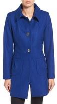 CeCe Women's 'Nora' Tuck Pocket Wool Blend Coat
