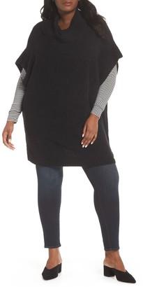 Sejour Poncho Sweater (Plus Size)