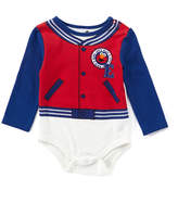 Children's Apparel Network Sesame Street Red & Blue Elmo 'Sesame U' Bodysuit - Infant