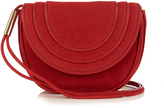 Diane von Furstenberg Mini Bullseye nubuck messenger cross-body bag