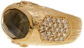 Melinda Maria Larissa Labradorite Ring - Size 7