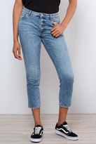 Cheap Monday Distressed Straight Jeans