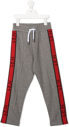 No21 Kids Logo Band Track Pants