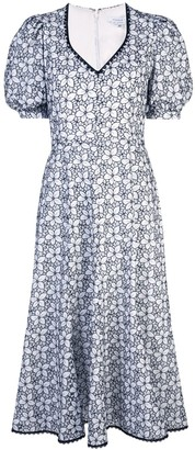 Andrew Gn floral-print dress
