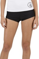 Volcom Women's Simply Solid Boy Cut Bikini Bottoms