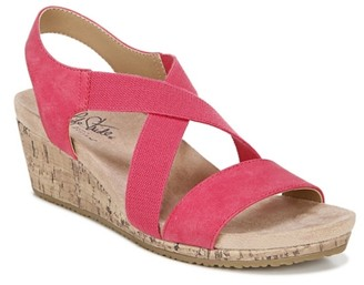 LifeStride Mexico Wedge Sandal