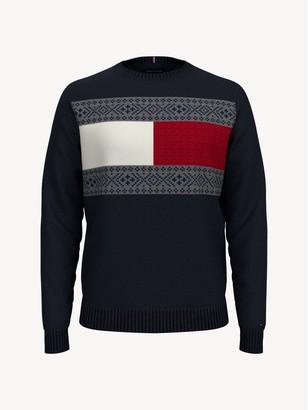 Tommy Hilfiger Essential Flag Fair Isle Sweater
