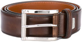 Santoni classic belt - men - Leather - 100