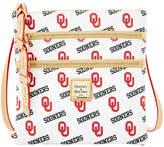 Dooney & Bourke Oklahoma Sooners Triple-Zip Crossbody Bag
