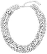 Steve Madden Etched Collar Necklace