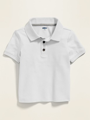 Old Navy Built-In Flex Pique Uniform Polo for Toddler Boys