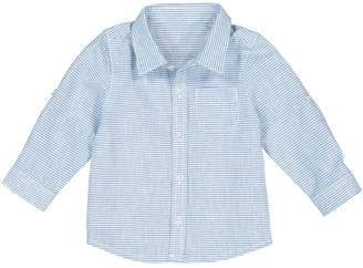 La Redoute Collections Cotton/Linen Striped Shirt, 1 Month-3 Years