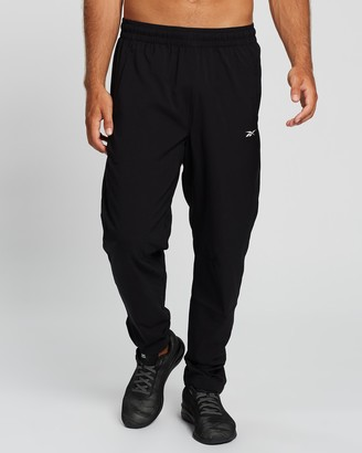 Reebok Performance - Men's Black Track Pants - Workout Ready Track Pants - Size S at The Iconic