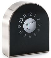 Michael Graves Design Black Mantel Clock