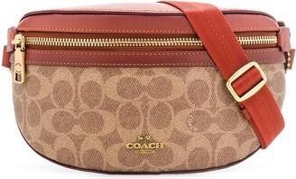 Coach Logo Print Belt Bag