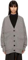 Acne Studios Grey Wool Sahar Cardigan