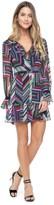 Juicy Couture Post Modern Stripe Dress