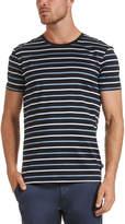 SABA Will Stripe Crew Neck T-Shirt