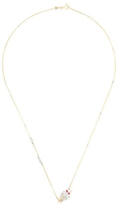 ALIITA 9kt yellow gold Astronauta necklace