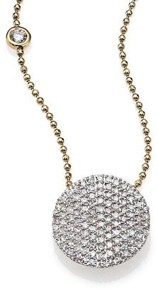 Phillips House Affair Diamond & 14K Yellow Gold Infinity Bezel-Accent Necklace