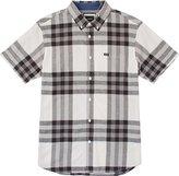 RVCA Men's Brookfield Short Sleeve Woven Shirt