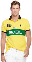 Ralph Lauren Custom-fit Brasil Polo Shirt