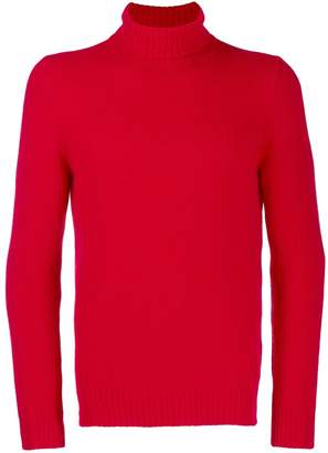 D'aniello La Fileria For ribbed turtleneck jumper