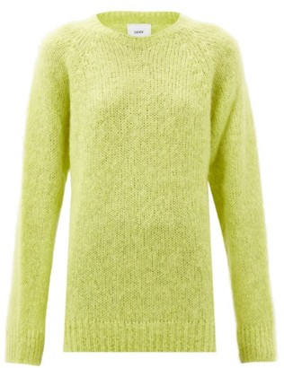 Erdem Bartley Mohair-blend Sweater - Yellow