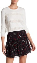 Joie Adonia Woven Stripe Sweater