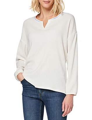 Tom Tailor Women's Materialmix T-Shirt Blouse,XXX-Large