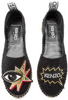 Kenzo Women's K Patch Espadrilles Black