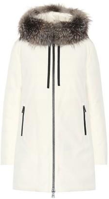 Moncler Bartramifur fur-trimmed jacket