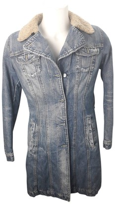 Gas Jeans Blue Denim - Jeans Coats