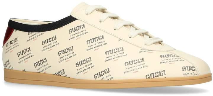 Gucci Invite Print Stamp Sneakers