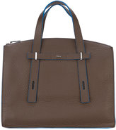 Furla laptop bag - men - Leather - One Size