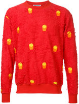 Mikio Sakabe - French fries sweatshirt - unisex - Cotton - L
