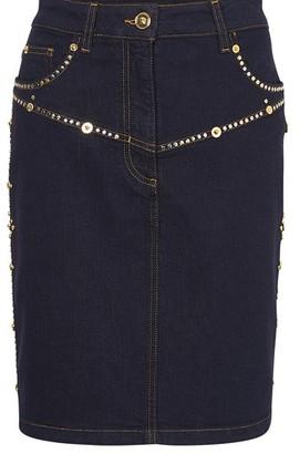 Versace Denim mini-skirt