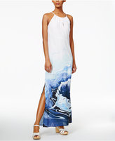 Bar III Dip-Dyed Maxi Dress, Only at Macy's