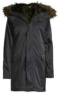 Opening Ceremony Women's Faux-Fur Lined Parka
