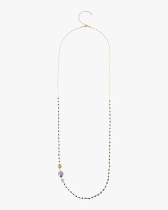 Chan Luu Baroque Pearl Beaded Necklace