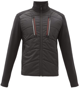 Toni Sailer Kane Ripstop And Fleece Mid-layer Jacket - Black