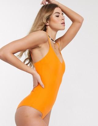 New Look swimsuit in orange