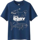 Uniqlo Boys Pixar Short Sleeve Graphic T-Shirt