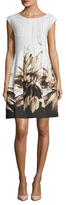 Josie Natori Printed Shift Dress