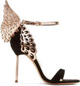 Sophia Webster Black Evangeline Heels