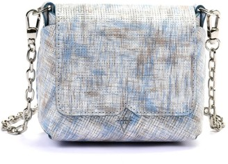 Hiva Atelier Baby Mare Straw Leather Silver