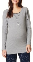 Noppies Women's Feline Henley Maternity/nursing Tee