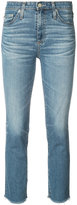 AG Jeans cropped skinny jeans - women - Cotton/Polyurethane - 26