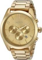 Nixon Women's A366502 Bullet Chrono Analog Display Japanese Quartz Gold Watch