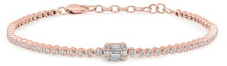Anne Sisteron The Baguette Diamond Colette Bracelet